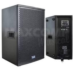 Caixa Ativa Mark Audio Falante 12 polegadas 150W USB Player CA600-BT<br><br>