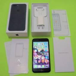 Iphone 7 Plus 256Gb Black, Completo, Caixa e acessórios (Novo Vitrine)