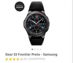 Relógio Gear S3 Frontier Preto