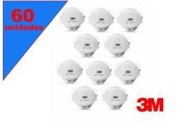 Mascara Aura Respirador Pff-2 9320 +Br - Branca Hospitalar (60 unidades)
