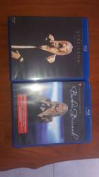 Dois Blu rays originais Barbra Streisand