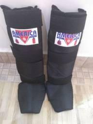 Caneleira perna completa