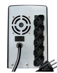 Nobreak Net 4 + 1400va Entrada E Saída Bivolt Com Conexão Para Bateria Externa - Sms