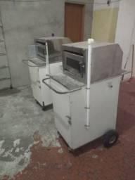 URGENTE 2 carrinho de mini pizza
