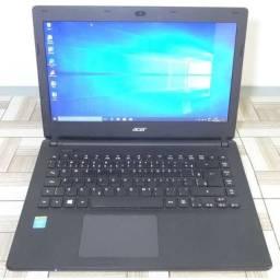 Vendo notebook acer 4hn hd 500gb windows 10 semi-novo