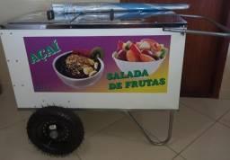 Carrinho de açai/salada de fruta
