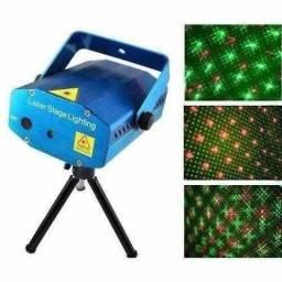 Kit festa 3in1 laser/strobo/bola maluca.