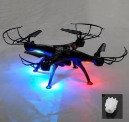 Drone syma x5sw-1 com camera radio baterias hub fonte