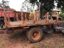 Carreta para plantar cana, carreta agrícola