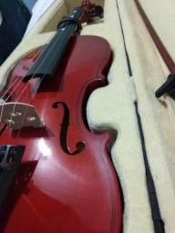 Violino novo usado poucas vezes
