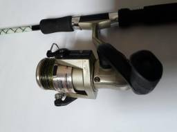 Pesca, vara + molinete