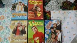 DVDs Chaves e Chapolin