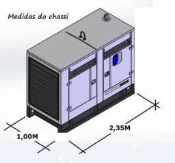 Quadro Chassi Vigas P/ Gmg Grupo Gerador Diesel Energia