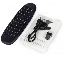 Mini Teclado Air Mouse Sem Fio Usb 2,4ghz
