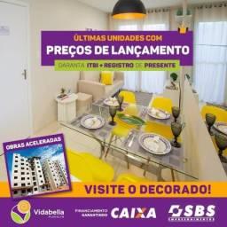 Lançamento: Residencial Vida Bella , 2 e 3 Quartos