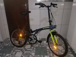 Bicicleta Dobrável hoptown btwin