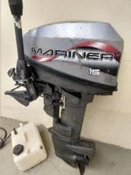 Motor Mariner 15Hp de popa - 1998