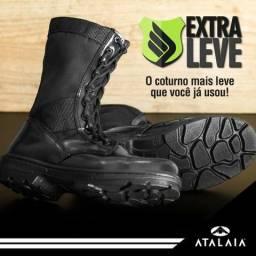 Coturno Exército - Extra Leve - Atalaia Original C zip e10f97e059058