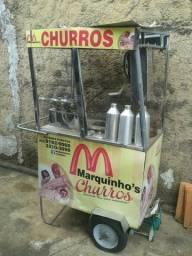 CARRINHO DE CHURROS para reforma