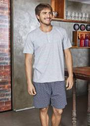 Pijama Bermuda Demillus Algodão Masculino