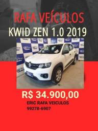 SABADOU!!!! KWID ZEN 1.0 2019 R$ 33.900,00 - ERIC RAFA VEICULOS