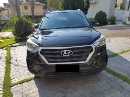 Vendo Hyundai Creta 2019 34.000 km Atitude 1.6 16V Flex Automático Preto Carro Família