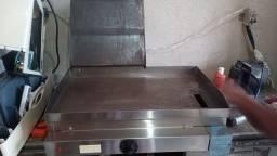 Chapa/Sanduícheira EDANCA 60x35cm elétrica 220v