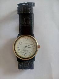 Relógio Technos Quartz Novo. Aceito trocar por relógio de bolso