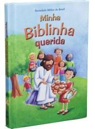 Minha Biblinha Querida Bíblia Para Crianças Infantil 40 Hist