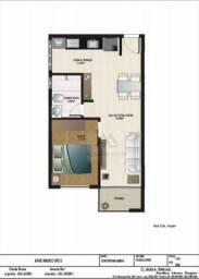 Apartamento com 1 dormitório à venda, 40 m² por R$ 160.000,00 - Jardim Canaã - Varginha/MG