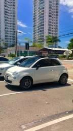 Fiat 500 2012/12 dualogic com teto - 2012
