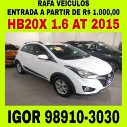 HB20X 1.6 FLEX 2015 1 MIL DE ENTRADA FALAR COM IGOR fcx