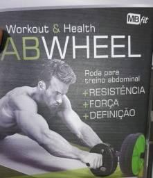 Roda para treino Abdominal