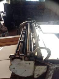 Riscador de papelão klause em aço fundido