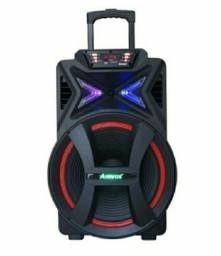 Caixa de som amplificadora Amvox Aca 290w