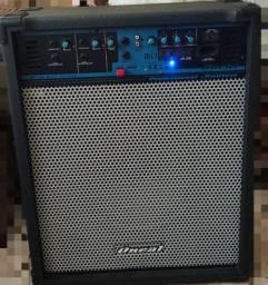 Caixa de som - amplificador Oneal Profissional 110/220v