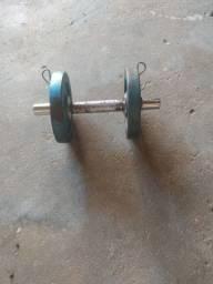 Peso de musculação de ferro
