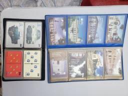 Cartões telefônicos muito novos