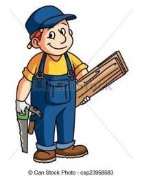 Carpinteiro ja com servente