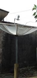 Antena parabolica( cidades ouro preto )