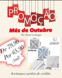 Vende-se placas 3D de polietileno/ pvc