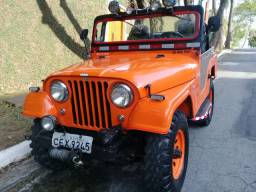 Jeep willys toppp/ troco por carro