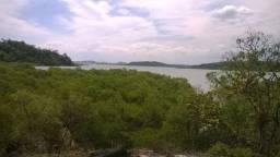 Lugar da paz e tranquilidade em ilha de mare