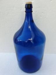 Garrafão Antigo Azul 4,700ml Coleção Decoração Retro