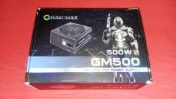 Vendo Fonte Gamemax GM500 80 Plus Bronze PFC Ativo (Defeito)