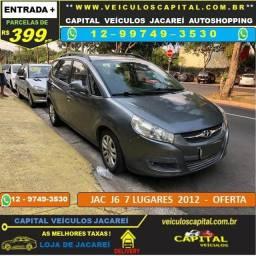 Jac J6 2012 Parcelas de 399 reais ao mês 7 Luigares