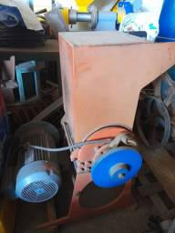 Mesa vibratória  e moinho de facas p/cobre