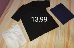Camisetas,tênis, produtos Natura