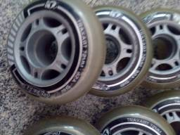 Rodas patins traxart 72 mm 82 a seminovas