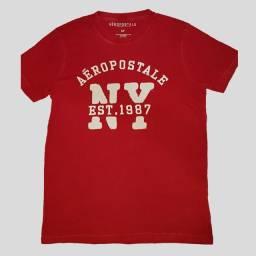 Camiseta original Aeropostale vermelha